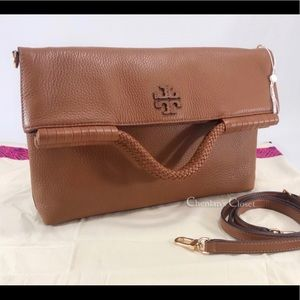 NWOT Tory Burch Taylor Fold Over